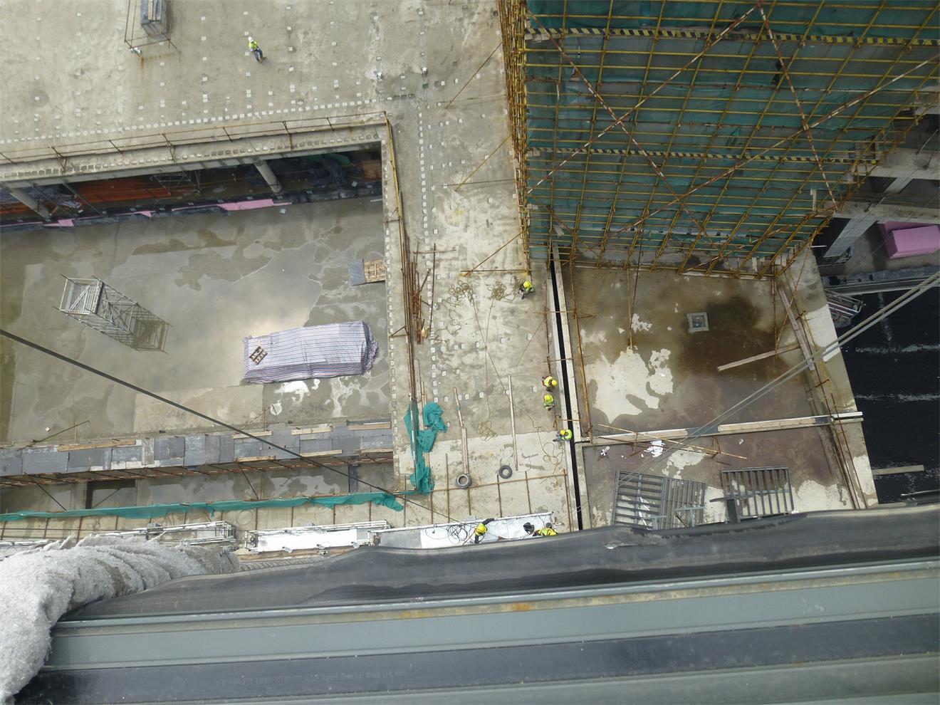 杭州贝特工业机械施工现场